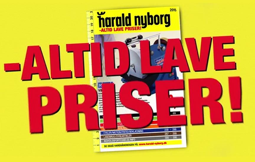 Harald Nyborg tv reklame